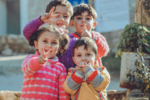 Helping Children help Nation